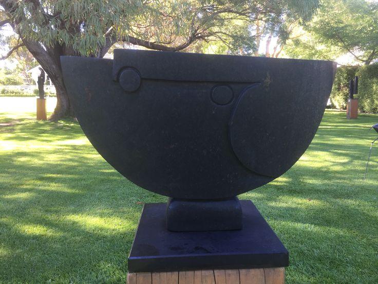 #71-311 'Moon Spirit' by Gift Bangura - Serpentine - 40cmh x 55w x 30d - $880