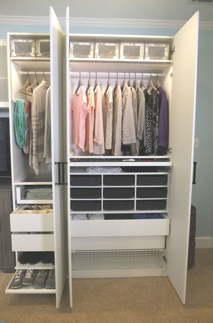 A Personalized Pax Wardrobe Provides The Storage You Need For All The Clothing And Accessories