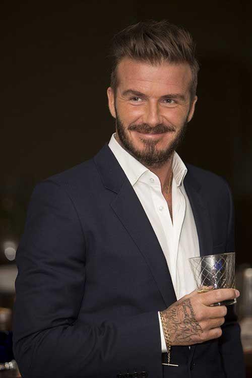 22.David Beckham Short Hairstyle