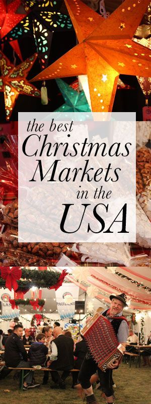 While European cities do a great job of celebrating, we've actually got some excellent Christmas markets in the states. Here's a few of my favorites.