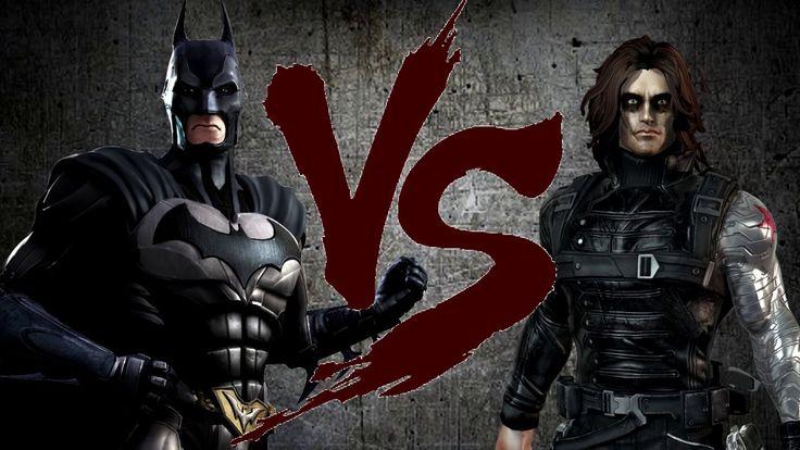 BATMAN (DC) VS BUCKY (Marvel) [CT Fight Club]