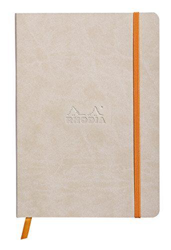 Rhodia Boutique Dot Rhodiarama - Cuaderno, tamaño A5, color beige #Rhodia #Boutique #Rhodiarama #Cuaderno, #tamaño #color #beige