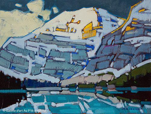 Cameron Bird, 'Cavell Patterns', 12'' x 16''   Galerie d'art - Au P'tit Bonheur - Art Gallery