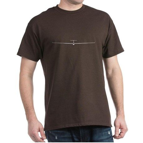 Sailplane Silhouette T-shirt