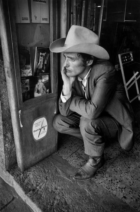 """Actor Dennis Hopper"" 1970, photo by American photographer DENNIS STOCK (1928/2010)"