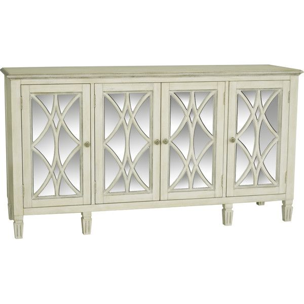 Amanda Mirrored Sideboard - for tv console