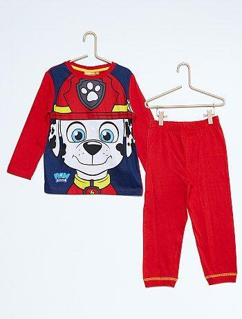Pijama largo estampado 'La Patrulla Canina'                     rojo Infantil niño