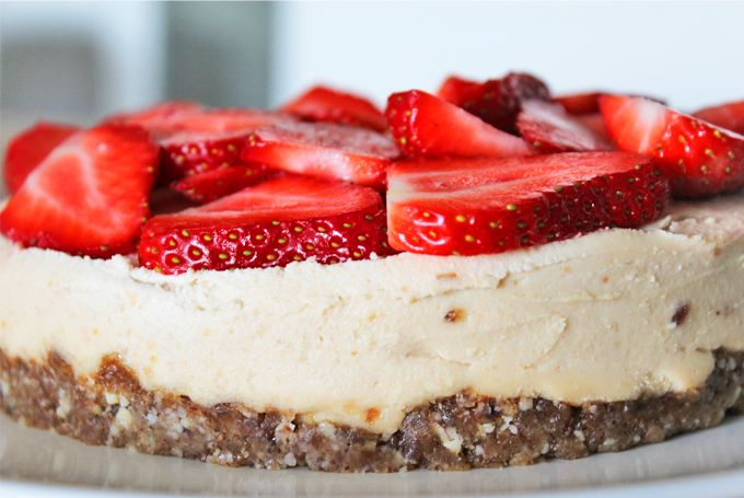 Healthy cheesecake van Rens Kroes. Wat een top recept!