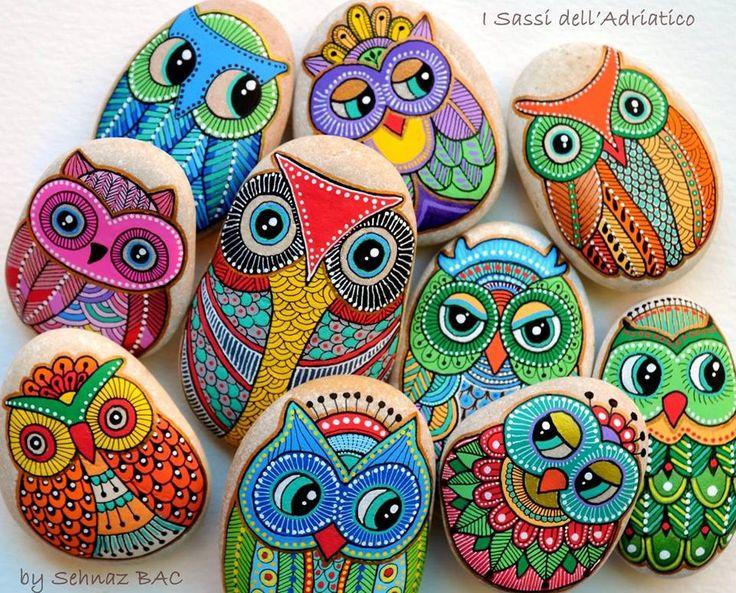 Stone Painting Craft