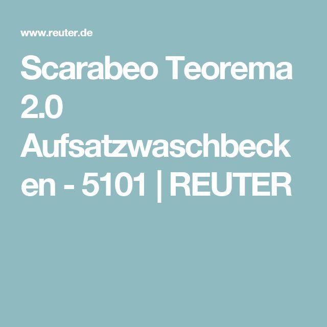 Scarabeo Teorema 2.0 Aufsatzwaschbecken - 5101 | REUTER