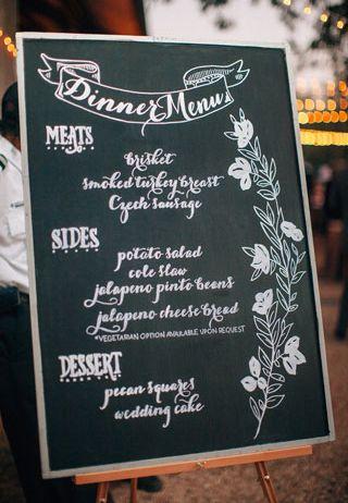 Good Chalkboard Menu. Chalkboard Wedding ProgramsChalkboard IdeasNautical ...
