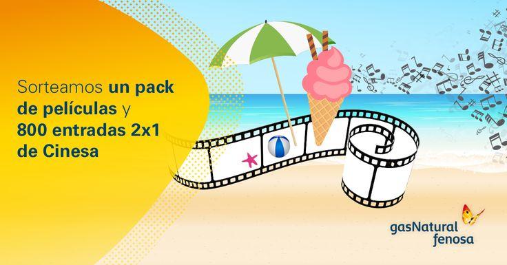 ¡Sorteamos un  pack de películas y 800 entradas 2x1 de Cinesa! Uno puede ser tuyo ¿a qué esperas?