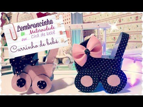 Lembrancinha de Maternidade ou Chá de Bebê - Carrinho com caixa de Leite - YouTube