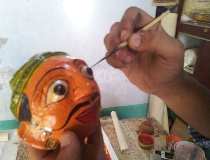 Hand made crafts of India