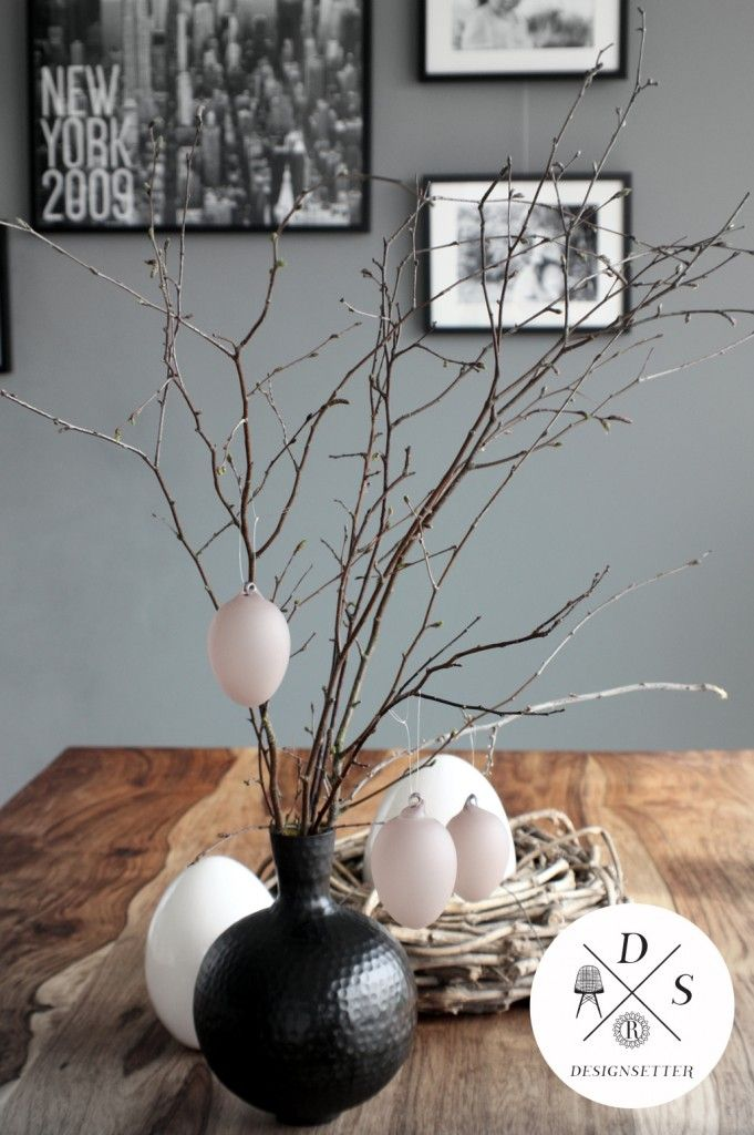 Easter deko minimalistic