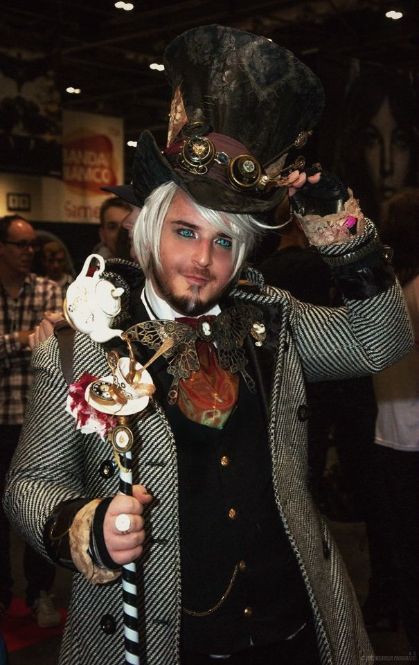 Steampunk Mad Hatter Cosplay by cammykillerbee on DeviantArt