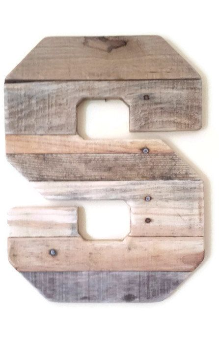 Large pallet wood letter. Choice letter, custom personalized letter with recycled wood. THIS LISTING IS FOR A SINGLE LETTER OF YOUR CHOICE - when