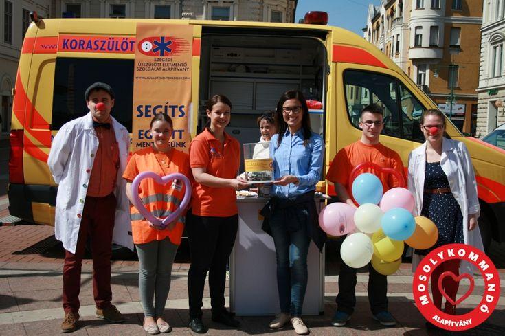 """Mozgalmas hétvégén vagyunk túl, tegnap a """"Fuss a szegedi Gyermeksebészetért"""" rendezvényen, ma pedig egy közös Rotarys szervezésű gyűjtésen vettünk részt Alapítványunkkal.  A Szent-Györgyi Albert Rotary Club, a Szegedi Dóm Rotary Club, a Szeged-Tisza Rotary Club, a Rotaract Club Szeged, és az Interact Club Szeged közös szervezésében került megrendezésre a Rotary Tavasz rendezvény, Szegeden, az Europa-Nostra díjas Kárász utcán. Az eseményen a Szegedi Újszülött Életmentő Szolgálat javára…"""