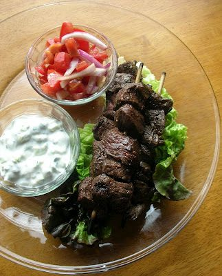 Basil: Cumin and Oregano Marinated Beef Kebabs