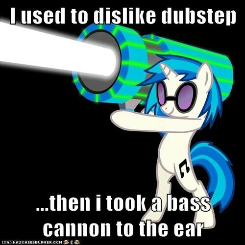 Dj Pon3 And Her Bass Cannon Vinyl Scratch