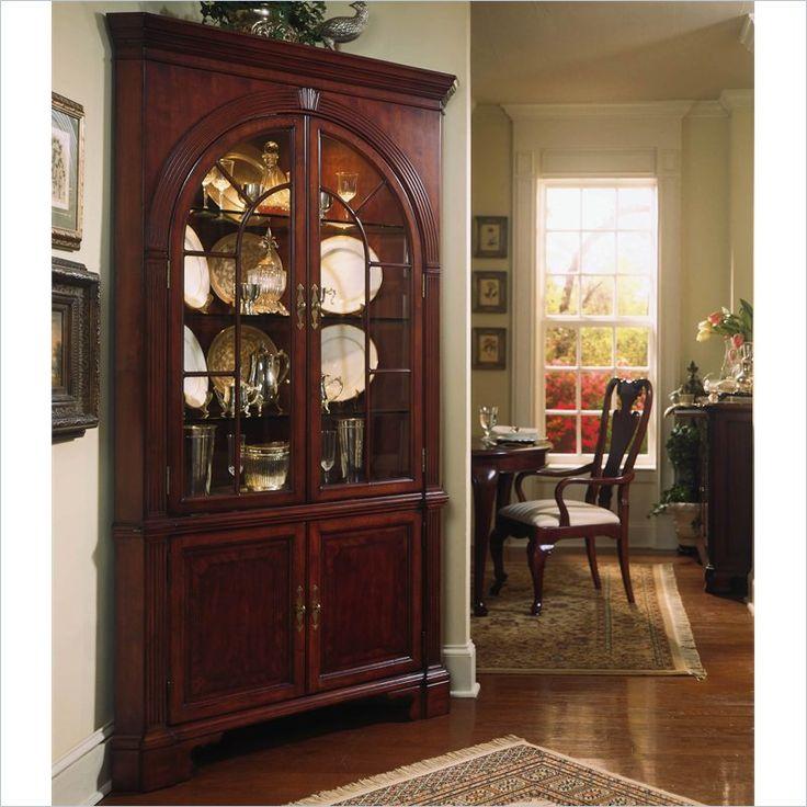 American Drew Cherry Grove Corner China Cabinet - 792-860R - Lowest price  online on