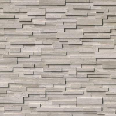 Lovely MSI White Oak 3D Ledger Panel 6 In. X 24 In. Honed Marble Wall Tile (10  Cases / 60 Sq. Ft. / Pallet)