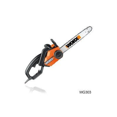 WORX WG303 16-Inch 3.5 HP 14.5 Amp Electric Chain Saw | Best Buy Garden Tools Store