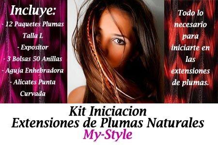 EXTENSIONES DE PLUMAS NATURALES - MYSTYLE