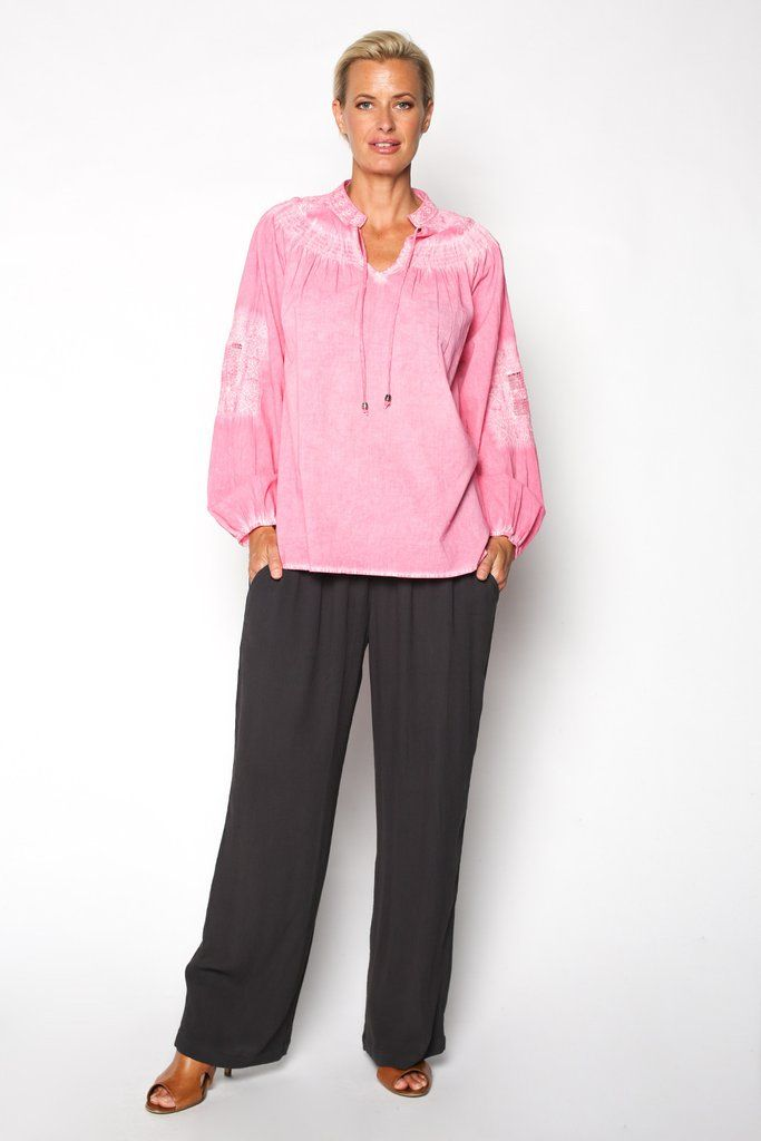 Lorena Top in Pink