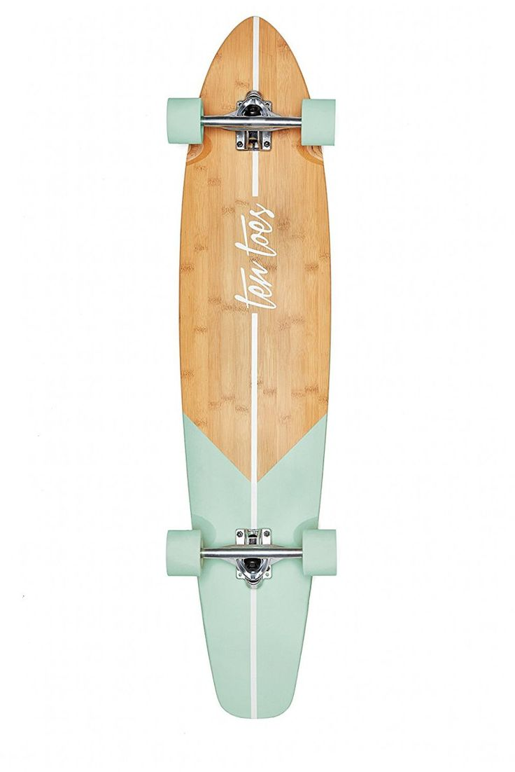 Ten Toes Board Emporium Zed Bamboo Longboard Skateboard Cruiser. Just ordered this! I'm excited!