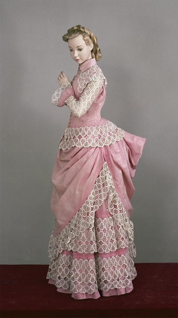 1885-1890 Young Woman's Dress | Joanna's fashion | STEALING THE PREACHER by Karen Witemeyer