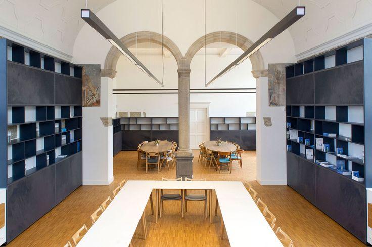 BK. architecten, Stephanie Gieles Interieurontwerp, KREUK architectuur, Arnaud Roelofsz · The Old Library · Divisare