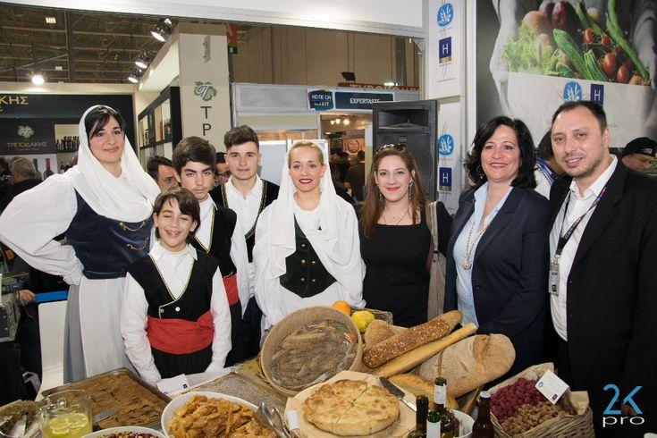 Kefalonia Showcases Greek Breakfast Menu at HORECA 2017.