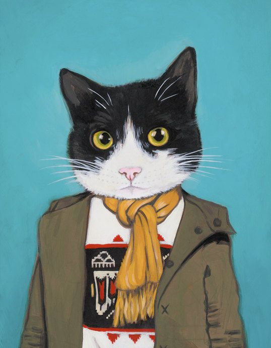 I just asked Ashy if we could buy this print (the exact likeness of Mittens) for the hallway of our newly renovated house but he just laughed until he cried and then walked away. Does that mean yes? Or no?