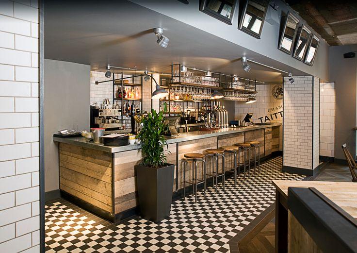 230 best Industrial Design Pubs images on Pinterest Bar counter - innovatives decken design restaurant