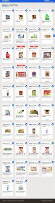 Les coupons d'épicerie passent au numérique. Rabais instantanés à la caisse lorsque vous magasinez avec l'appli Coupgon.