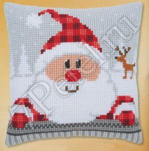 PN-0148061 - Санта Клаус в  клетчатой шапке