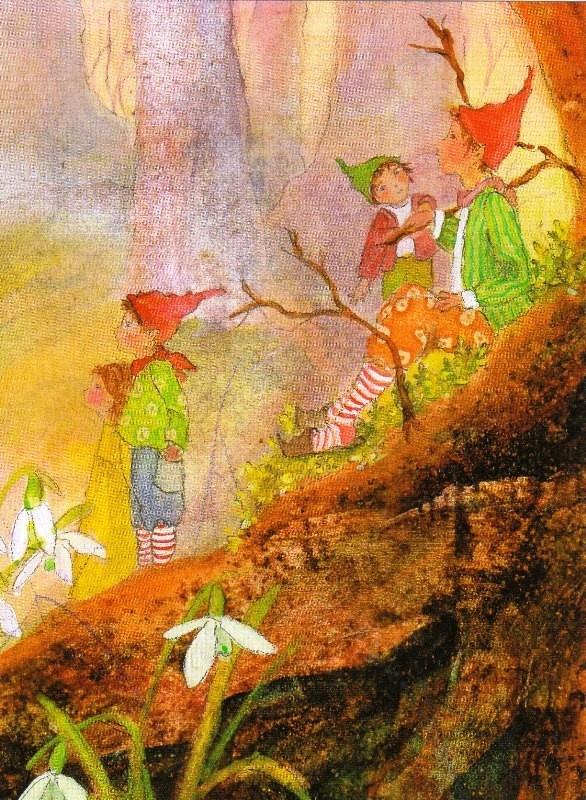 Snowdrops Dwarfs   Artist: Drescher, Daniela