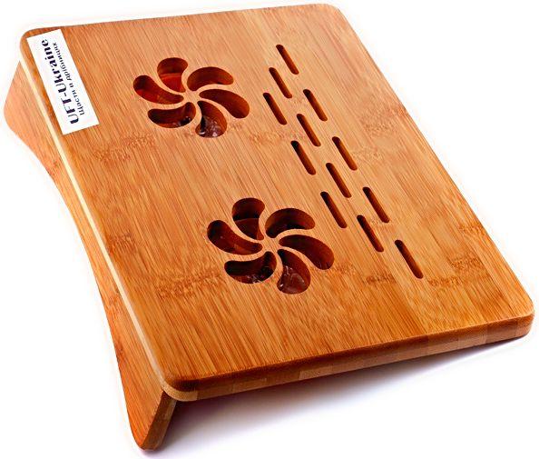 """Бамбуковая подставка для ноутбука UFT P1, подарок, 8 марта: продажа, цена в Одессе. сувенирные подарочные наборы от """"МОБИОПТОМ.КОМ.ЮА - ГАДЖЕТЫ ДЛЯ ВСЕХ, НИЗКАЯ ЦЕНА"""" - 250817765"""