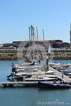 Recreation and fishing boats on Mondego river marina, Figueira da Foz, Portugal. - (C) Celia Ascenso 2015