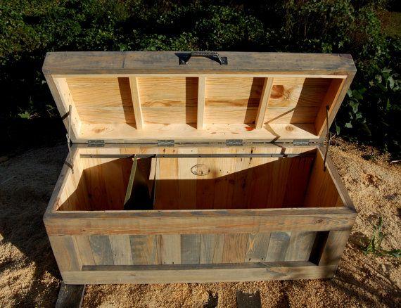 Armoire en bois / stockage de dossier / par LooneyBinTradingCo