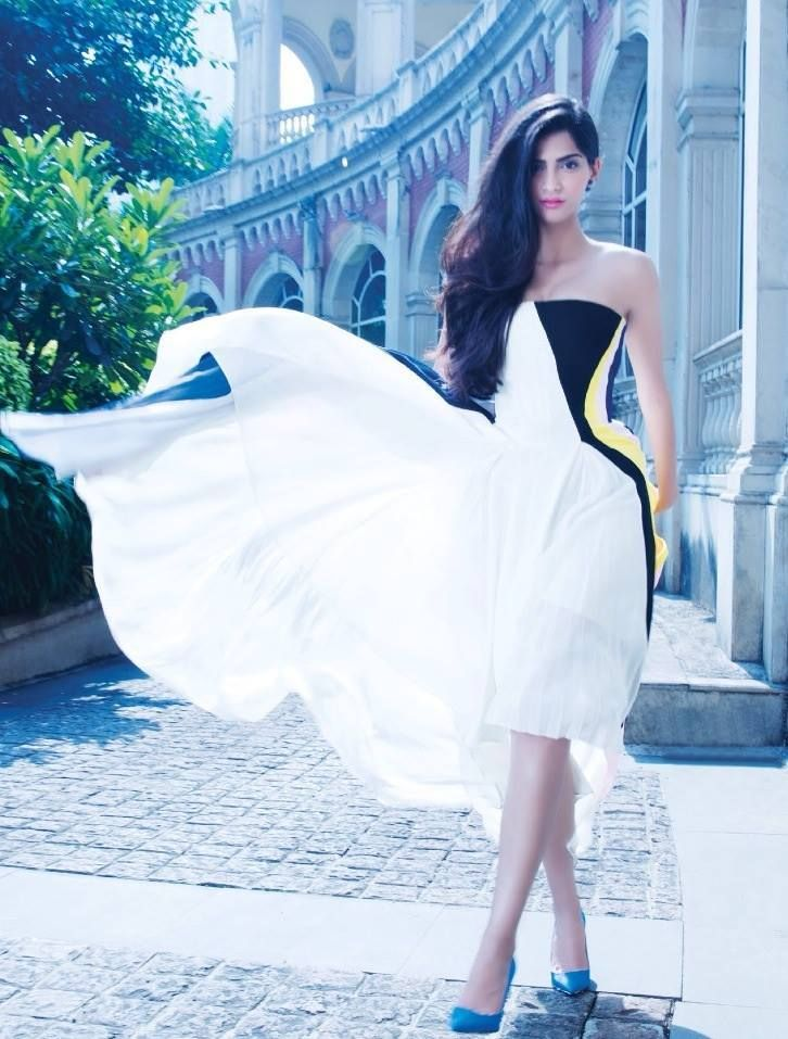 Sonam Kapoor's photoshoot for Hi! Blitz magazine. #Bollywood #Fashion #Style #Beauty