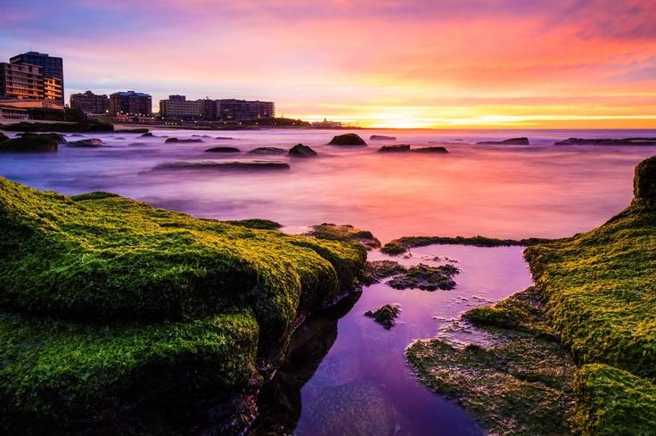 Newcastle Beach In Australia!