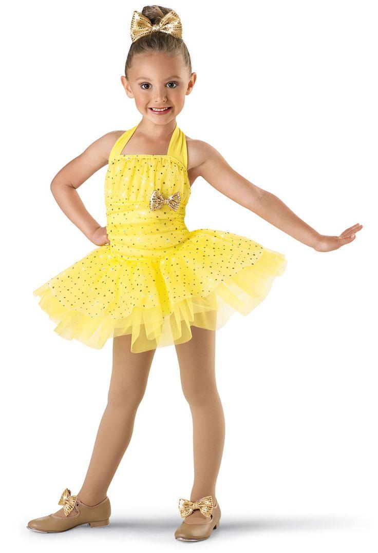 Girls' Cute Sequin Halter Dress; Weissman Costumes