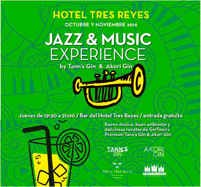 Gin and Music en el Hotel Tres Reyes