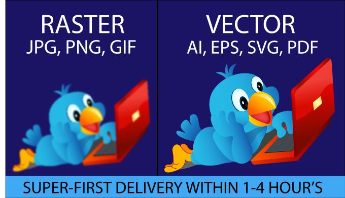convert to vector png,jpg,gif,psd to Ai,Eps,Svg at ASAP by prince2009
