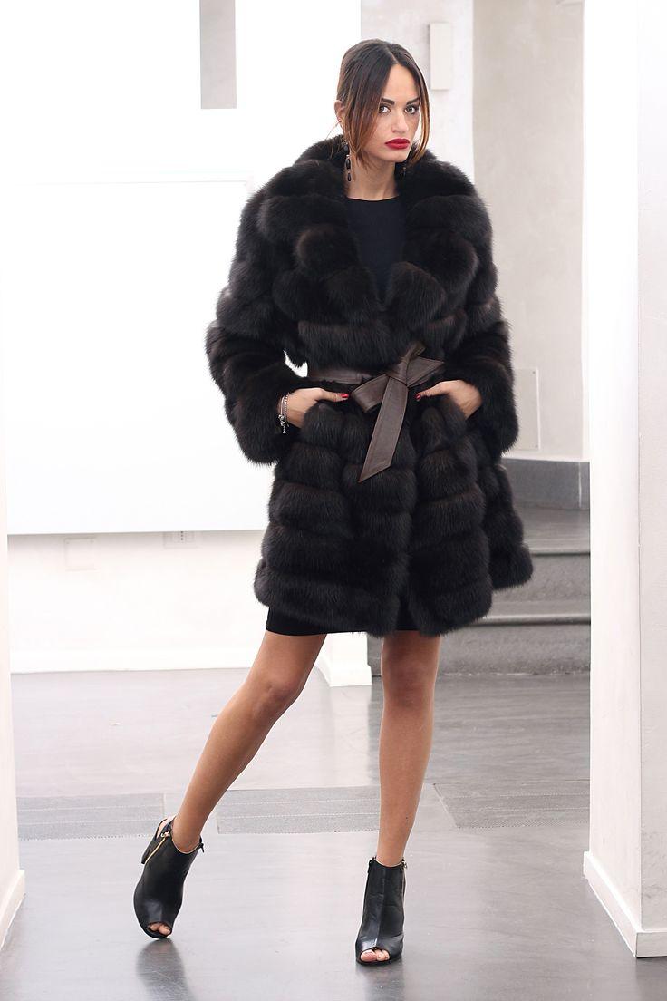 superbe veste en fourrure de zibeline 1