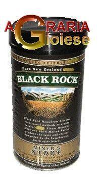 BLACK ROCK MALTO PER BIRRA MINERS STOUT http://www.decariashop.it/malti-per-birra/1738-black-rock-malto-per-birra-miners-stout.html