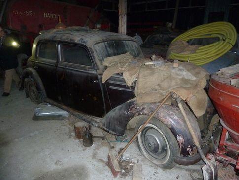 Mercedes 170S RatRod side