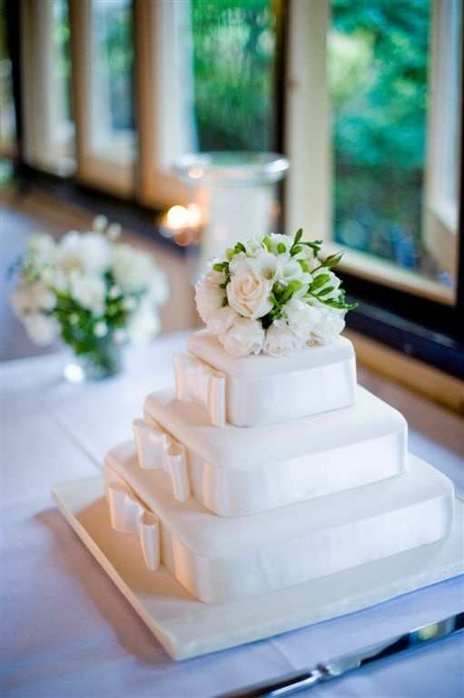 Wedding Cake - Vaucluse House Tearooms